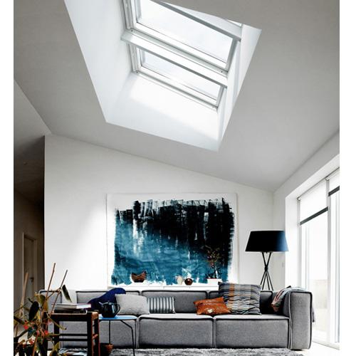 Velux vse skylight j s rattaro maderas aserradero - Cortinas para tragaluz ...